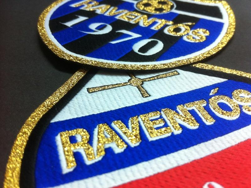 escudos bordados futbol
